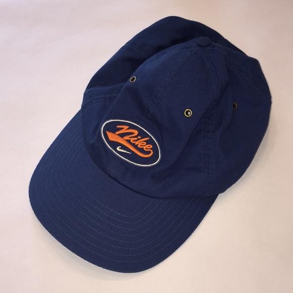 5d5bda5c7 90's Nike leather strap hat